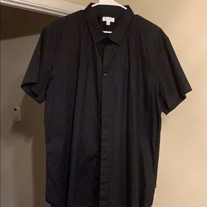 Calvin Klein men's button up short sleeve